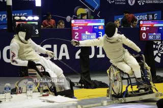 Asian Paragames 2018 fencing