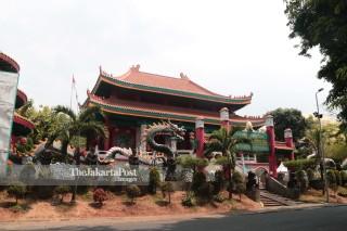 Kelenteng Kong Miao di Taman Mini Indonesia Indah (TMII) Jakarta