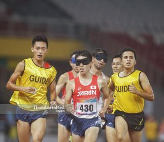 Para atletik Asian Para Games 2018_Jepang