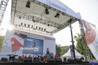 Hiburan Untuk Pengunjung Asian Para Games 2018