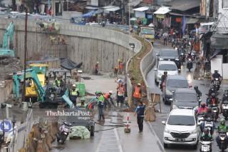 Progres Pembangunan Underpass Senen