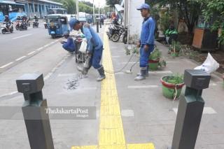 Bongkar Pendestrian Kembali