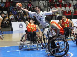 -Men  Basketball Whellchair Asian Para Games 2018
