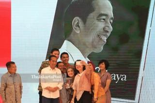 Jokowi Menuju Cahaya book launch
