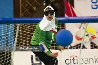 Goal Ball Asian Para Games 2018 - Putri - Iran
