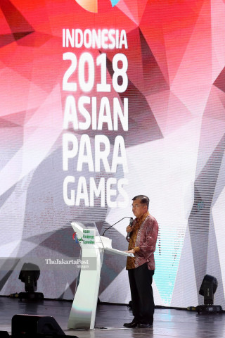 Closing Asian Para Games 2018_Wakil Presiden Republik Indonesia Jusuf Kalla