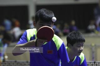 Tenis Meja Asian Para Games 2018_China