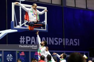 Basket Kursi Roda Asian Para Games 2018_ Iran
