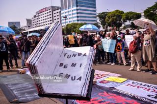 Demo menuntut pengesahan RKUHP