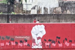 Mural Kemerdekaan Indonesia