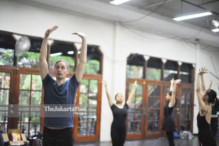 Christopher Hill, (West Australian Ballet Dancer)