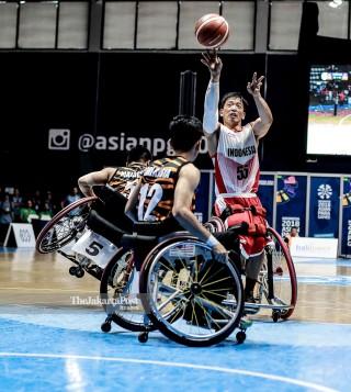 Basket Kursi Roda Asian Para Games 2018_ndonesia vs Malaysia
