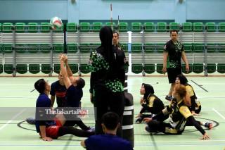 Para games Athletes training