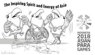 The inspiring spirit and energy of Asia