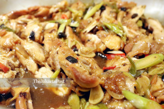 Sauteed Oriental Chicken