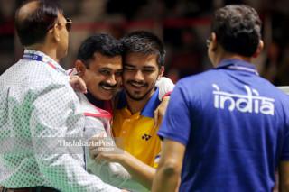 Para badminton putra Final Asian Para Games 2018_India