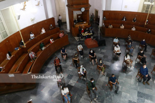 Perayaan Misa Natal di Gereja Immanuel