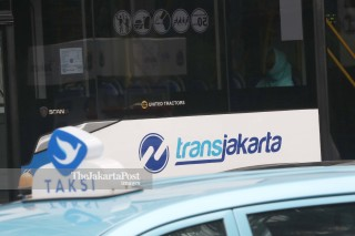 Wajib Bermasker di Transjakarta