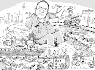Anies traffic regulation