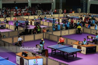 Table Tennis competition on Asian Para Games 2018