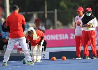 LAWN BOWLS ASIAN PARA GAMES 2018 - Indonesia vs Malaysia