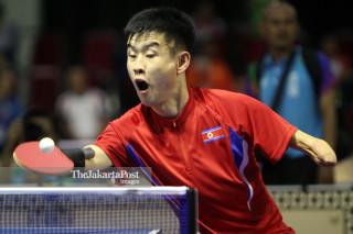 Tenis Meja babak penyisihan Asian Para Games 2018