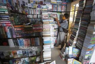 Pasar Buku Kenari Sepi Pembeli
