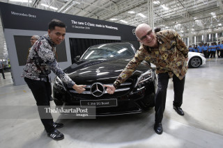 Mercedes-Benz new C 200  EQ Boost Avantgarde & C 300 AMG