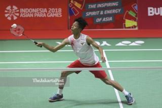 Badminton Asian Para Games 2018_Indonesia