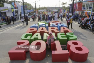 Pengunjung Asian Para Games 2018