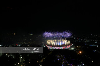 Asian Games fireworks