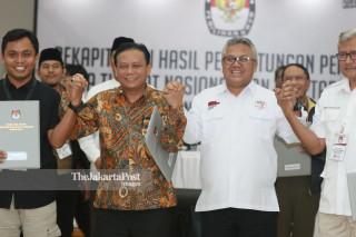 Pengumuman Hasil Pemilu 2019 KPU Pusat