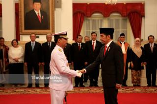 Indonesia Navy chief inauguration