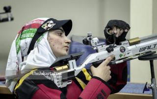 Asian Para Games 2018 Shooting Women Air Rifle Iran Roghayeh Shojaei