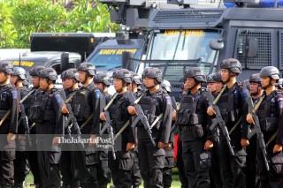 Apel Kesiapan pengamanan natal 2018 dan tahun baru 2019 Bali