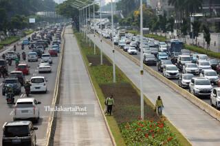 lalu lintas Jakarta