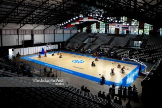 Venue Hall A Basket Senayan.