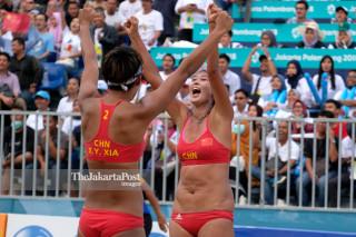 Asiad- Beach volleyball