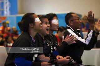 Goal Ball Asian Para Games 2018 - Putri - Thailand vs Iran