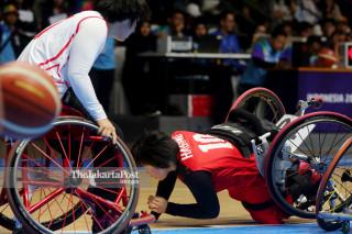 Basket Kursi Roda Asian Para Games 2018_ Jepang