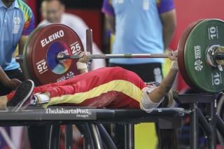 Final Angkat Berat Asian Para Games 2018