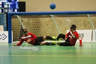 Goal Ball Asian Para Games 2018 - Putri - Iran vs Jepang