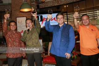 File; Peluncuran JP Plus tabloid Life style harian The Jakarta Post
