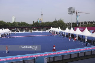 Venue Lawn Bols Asian Para Games 2018