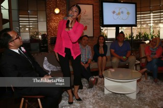 File: Peluncuran JP Plus tabloid Life style harian The Jakarta Post