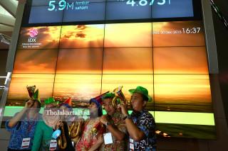 [FILE] Penutupan Perdagangan Bursa 2015