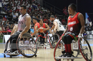 BASKET ASIAN PARA GAMES 2018 - Putra - Indonesia vs Iran