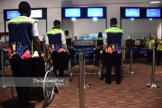 Uji Coba Persiapan Fasilitas menuju Asian Para Games