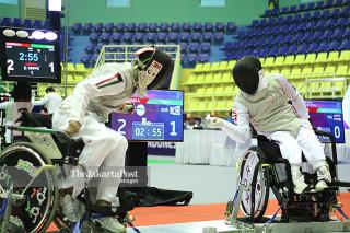 Anggar - putra - Korsel vs Kuwait