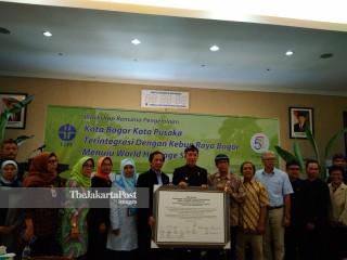 Kebun Raya Bogor sebagai World Heritage